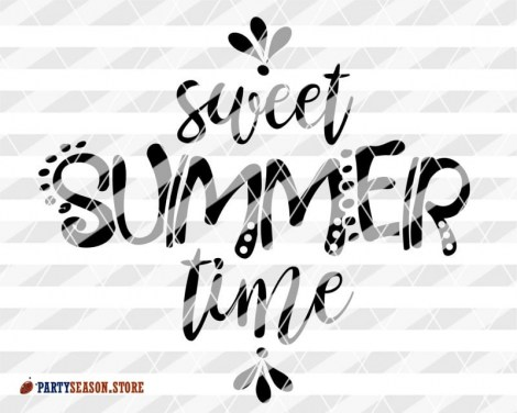 Party Season store Sweet summer time svg 2