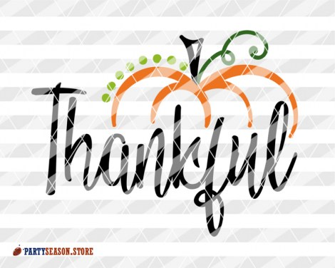 Thankful svg Pumpkin Party season store 3