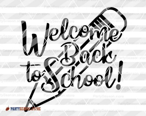 welcome back to school Party Season store 3