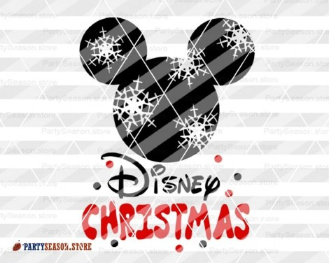 Disney Christmas svg Mickey Party Season 4
