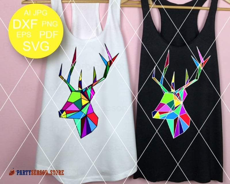 Deer Svg Party Season store