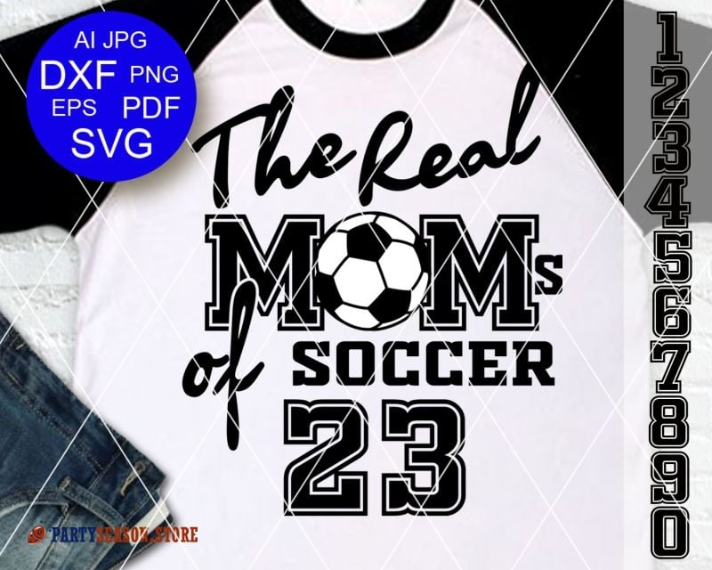 The Real Moms of Soccer 23 season store