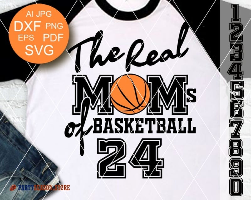 The Real Moms of Basketball 24 party season store