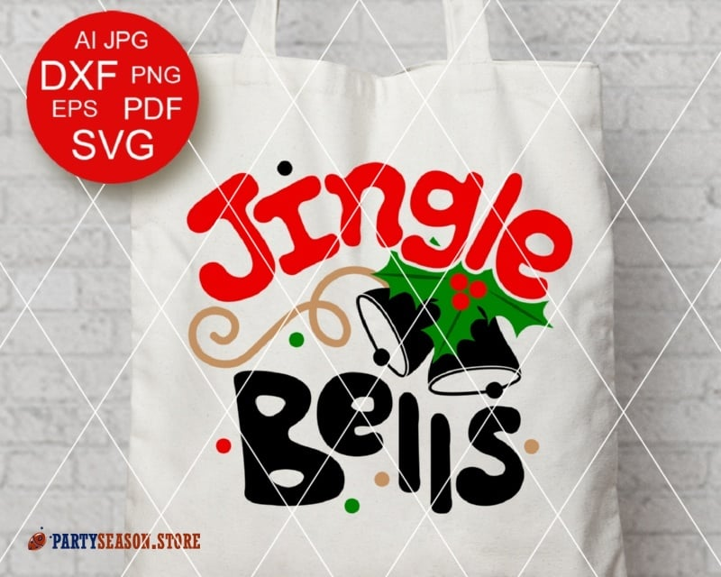 Jingle bells svg Party Season