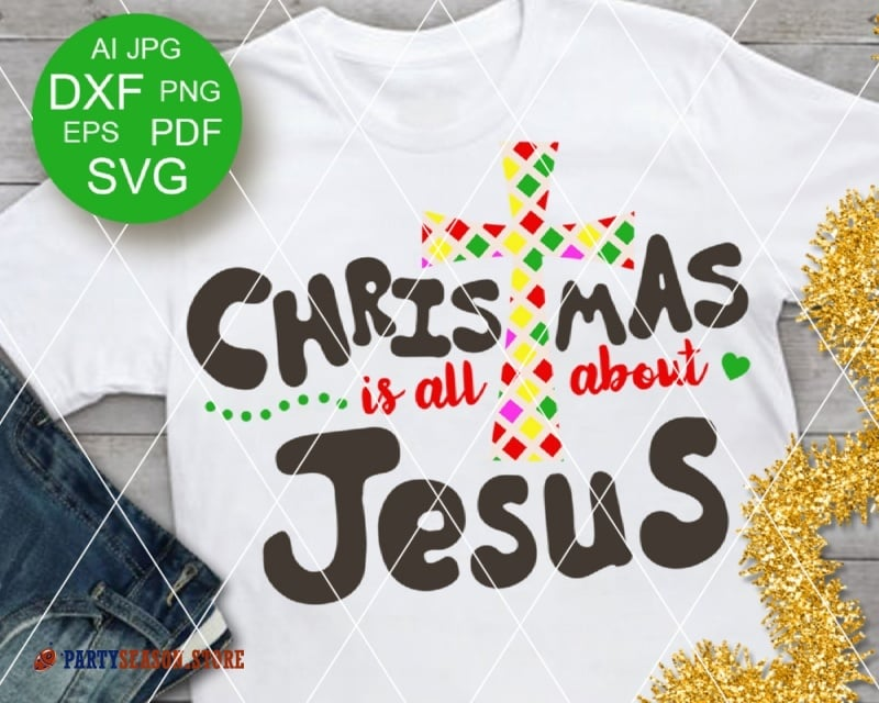 Christmas is all About Jesus Party Season 1