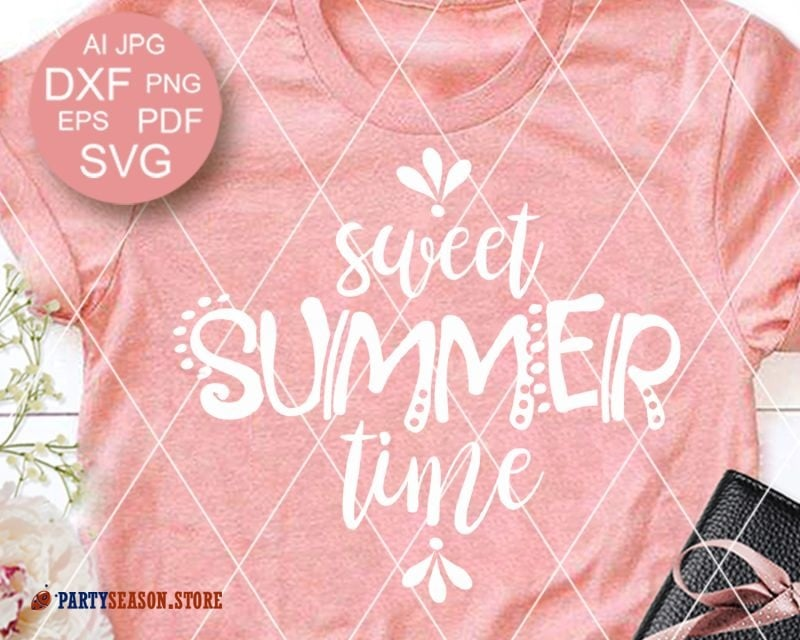 Party Season store Sweet summer time svg