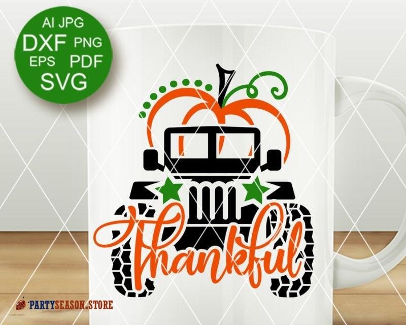 22+ Thankful Turkey Thanksgiving Svg Dxf Eps Png Jpeg Cutting File Thanksgiving Clip Art SVG