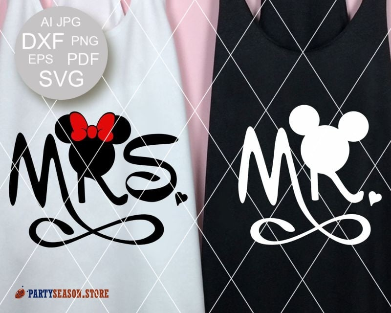 PartySeason Store Mr Mrs 1