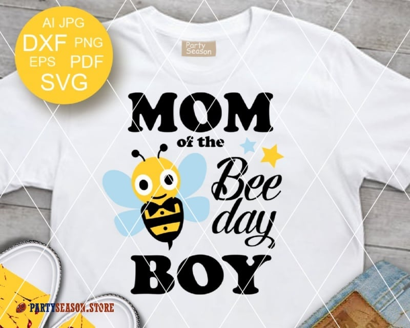 Mom Of The Bee Day Boy Party Season